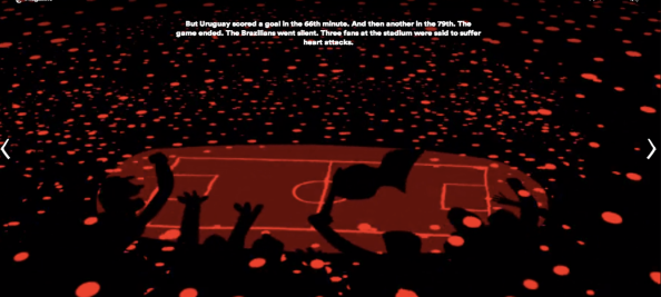 "NYT: ""My Travels with the Curse of Maracana"": http://www.nytimes.com/interactive/2014/06/08/magazine/world-cup-curse-of-maracana.html"